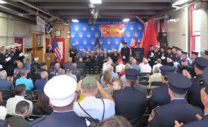 100th anniversary of South Beach's Ladder 81. Photo: Sam Villalobos.