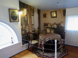 A recreation of Katherine Walker's room at the Noble Maritime Collection. Photo by Andrew Moszenberg for Life-Wire News Service.
