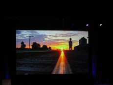 "An image from a video montage of Bill Geist's work on ""CBS Sunday Morning."" Photo: Meredith Arout for Life-Wire News Service."